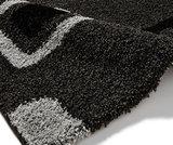 Hoogpool vloerkleed Maestro kleur zwart grijs 2751_