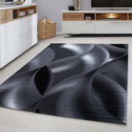 Modern-vloerkleed-Galant-8008-kleur-Zwart
