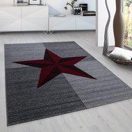 Modern-vloerkleed-Galant-8002-kleur-Rood