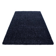 blauw vloerkleed
