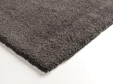 antraciet hoogpolig karpet