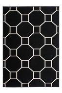 Goedkoop-vintage-vloerkleed-Ariadne-zwart-wit